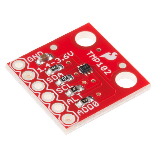SparkFun數字溫度傳感器突破 -  TMP102