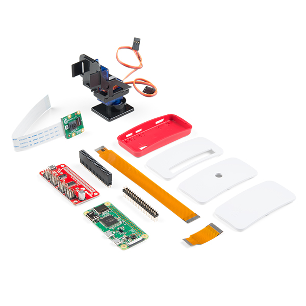 SparkFun Raspberry Pi Zero W Camera Kit
