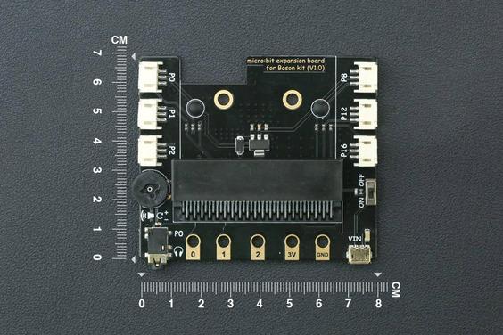 micro:用於Boson的擴展板(重力兼容)