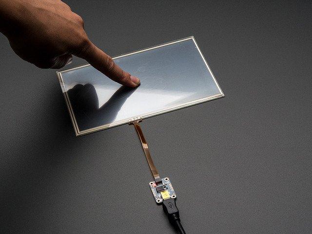 AR1100電阻式觸摸屏控制器指南