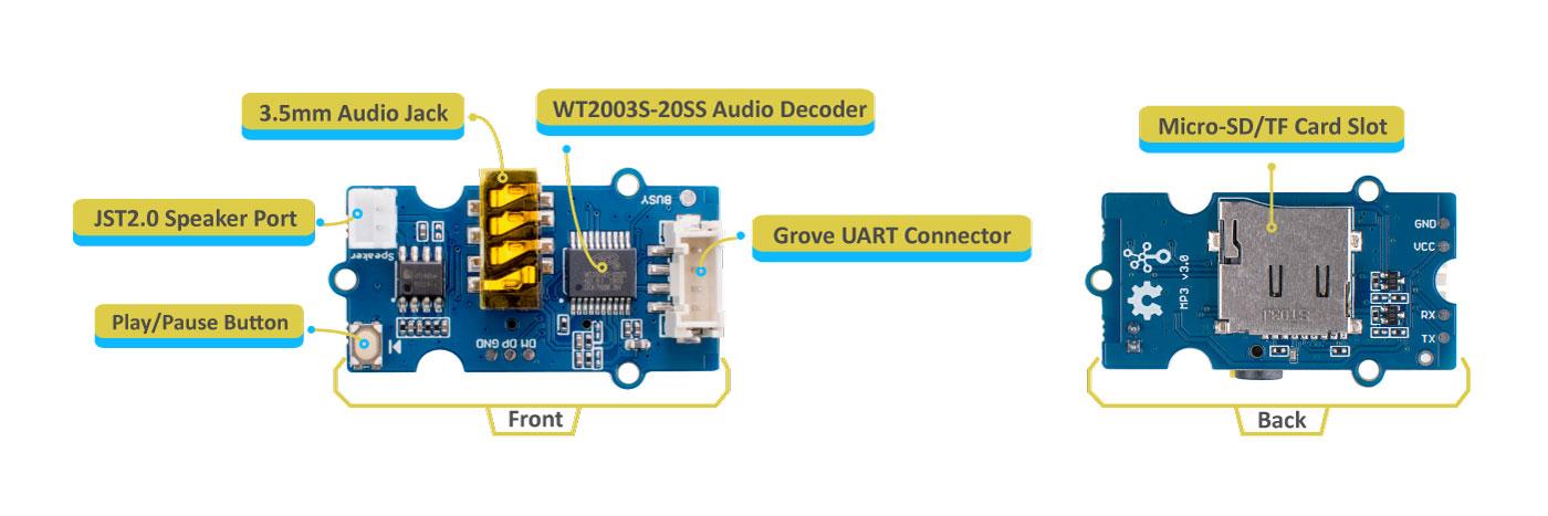 Grove MP3硬件