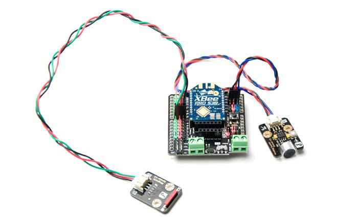 重力:用於Arduino傳感器連接的IO擴展板