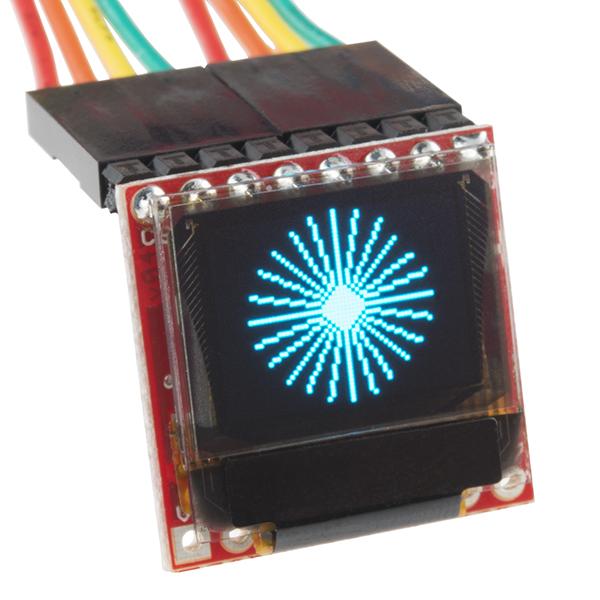英國威廉希爾SparkFun Micro OLED突破
