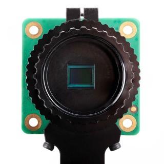 HQ 相機採用 Sony IMX477R 1,230 萬像素堆疊式背照式感光元件,尺寸為 7.9mm 。
