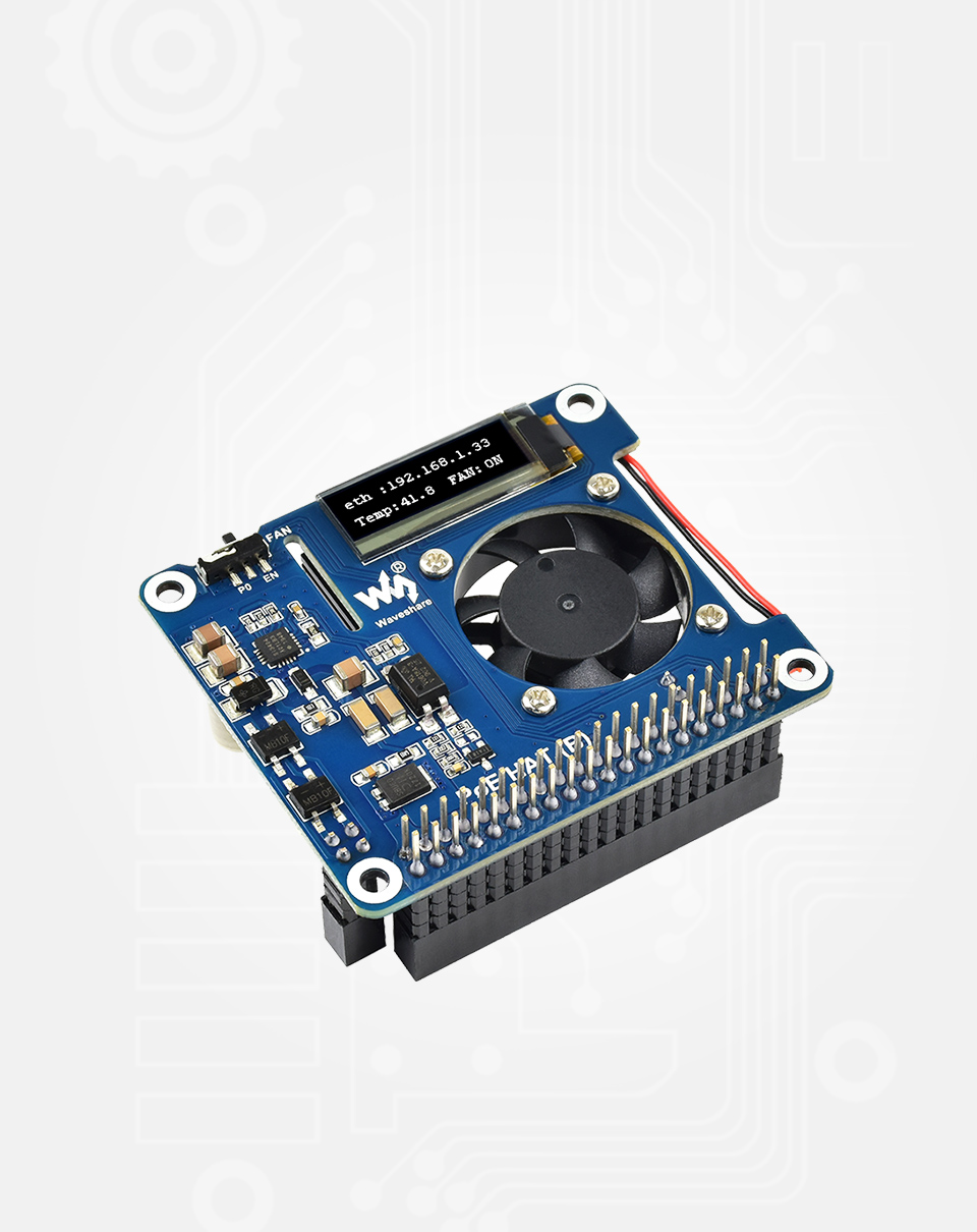 POE-HAT樹莓派以太網供電擴展板